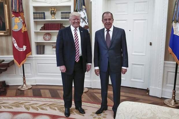 Трамп предостерег Лаврова отвмешательства России ввыборы вСША