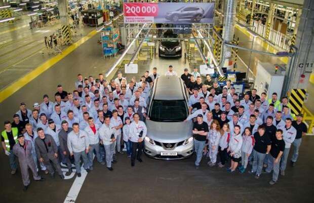 Завод Nissan в Петербурге
