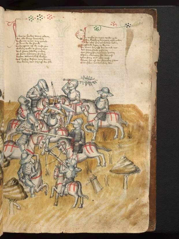 Средневековая пивная. Спорт в средние века (2 статьи)