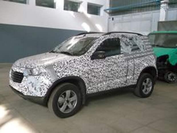 Тестовый прототип Chevrolet Niva