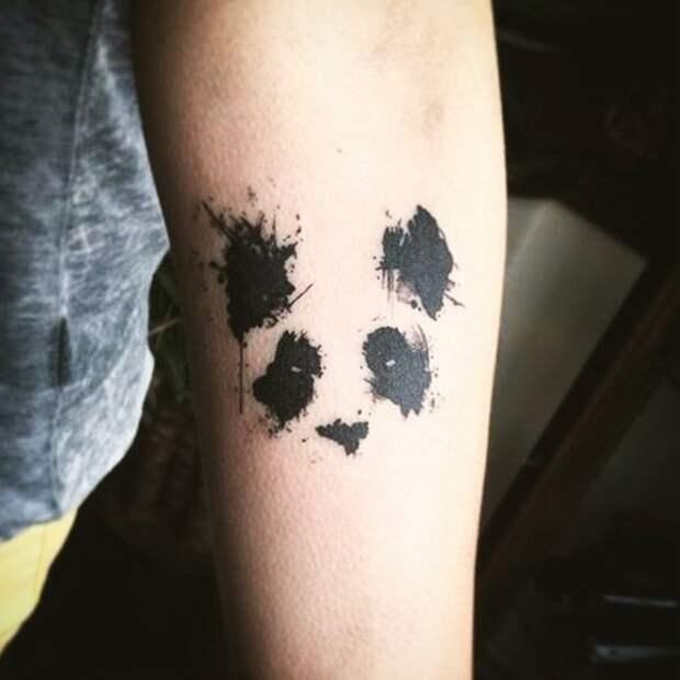 """""""Пятнистая"""" панда"""