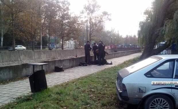 В центре Керчи обнаружили труп мужчины
