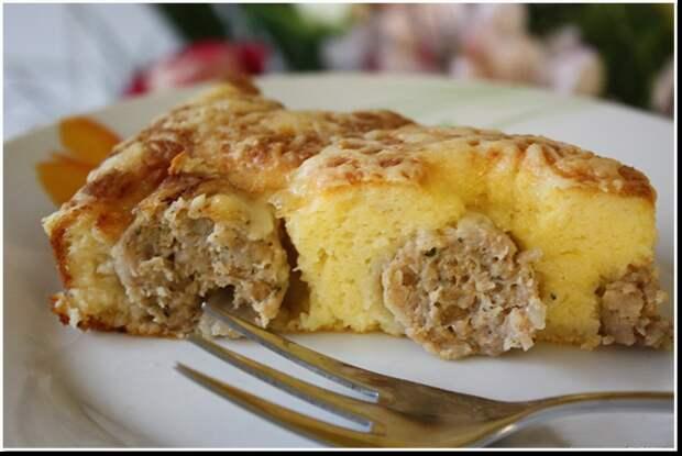 Вкуснейший пирог с фрикадельками