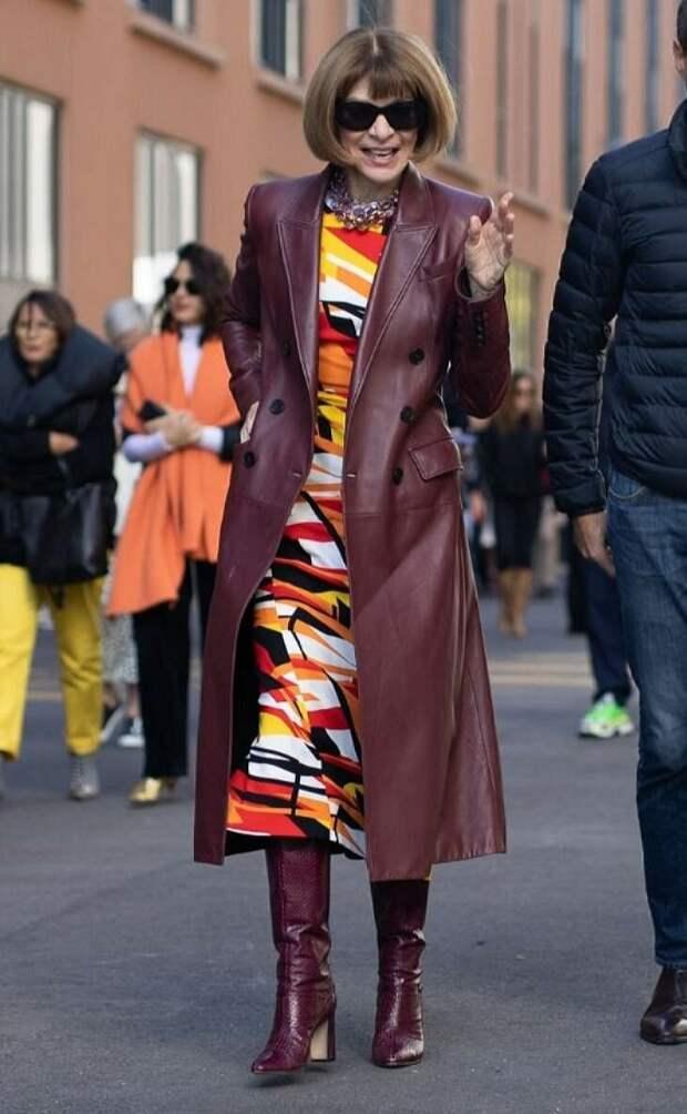 У нее есть, чему поучится: Непревзойденный стиль Анны Винтур