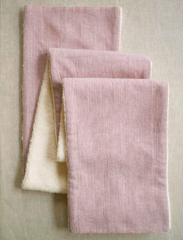 Уютный шарфик (Diy)