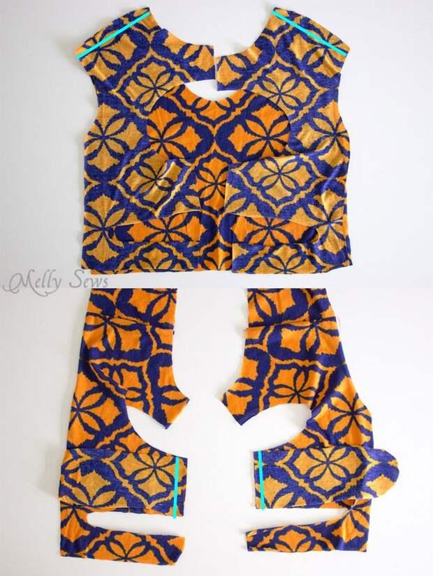 легкое в построении выкройки своими руками платье с открытой спиной
