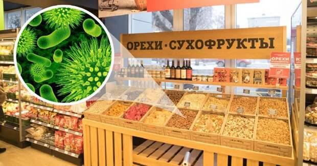 Опасность продуктов на развес