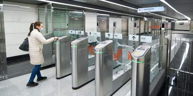 На станции метро «Строгино» участники эксперимента Face Pay получат скидку