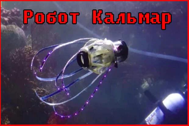 Разработан робот-кальмар