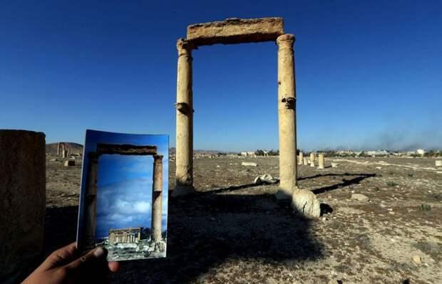 Что стало с многовековыми памятниками Пальмиры после ИГИЛа