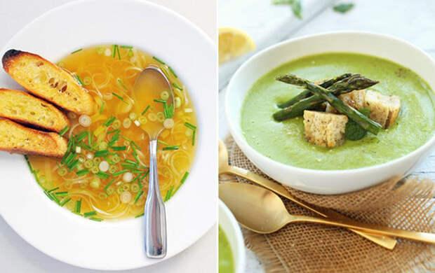 Яркое буйство весны: 5 простых и вкусных весенних супов за полчаса