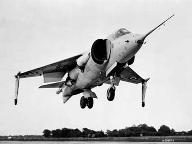 Прототип Hawker P.1127 XP831 в 1962