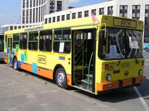 Школьным автобусам разрешат ездить по «выделенкам»
