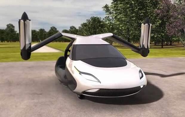 Летающий автомобиль уже в продаже!