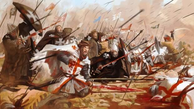 Тамплиеры: Битва при Хаттине. Тамплиеры и государи Западной Европы (2 статьи)