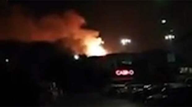 Двенадцать человек пострадали при взрывах на Кипре