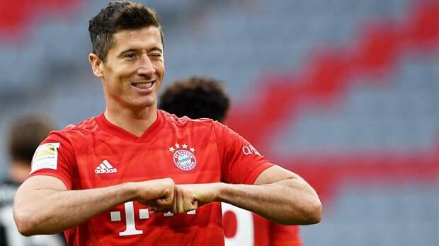 «Бавария» уверенно идет кЗолотому дублю. Левандовски вывел своих вфинал Кубка Германии
