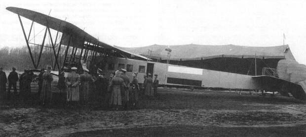 Состояние Российского военно-воздушного флота в 1917 году.