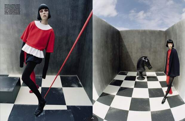 Алиса 3.0 (Vogue Italia December 2015)