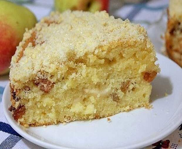 Яблочный пирог «Домашний». Вкус — обалденный!