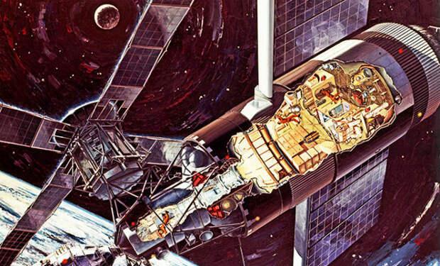 Американская космическая станция