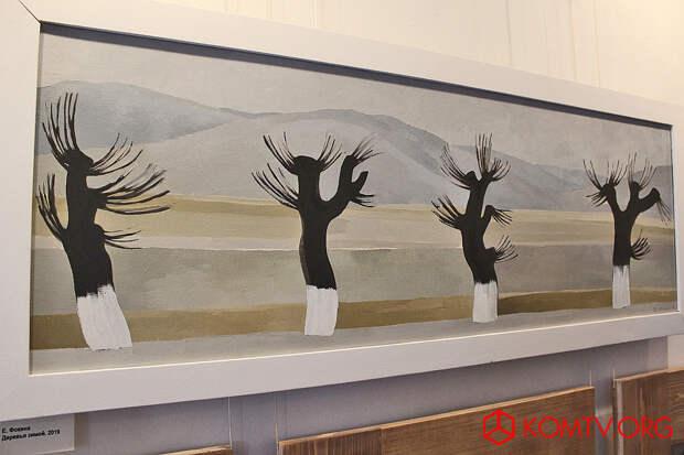 Елена Фокина – Деревья зимой