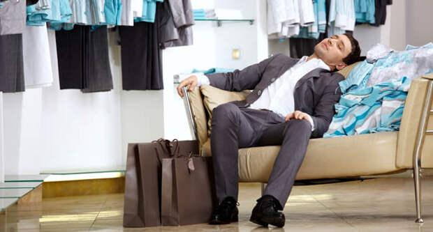 Блог Павла Аксенова. Анекдоты от Пафнутия про шопинг. Фото Deklofenak - Depositphotos