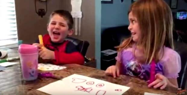 Что будет, если отнять конфетки у ребенка? Видео