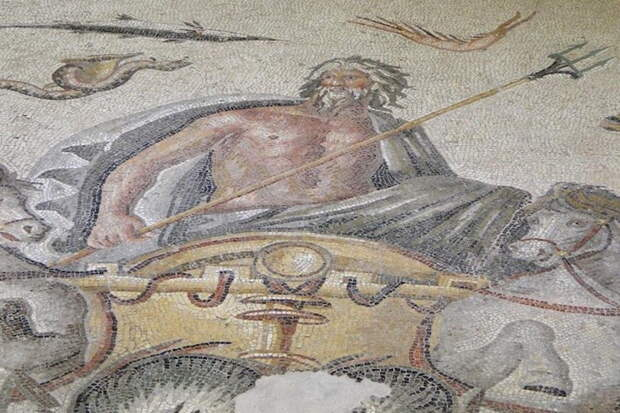 Посейдон, бог моря
