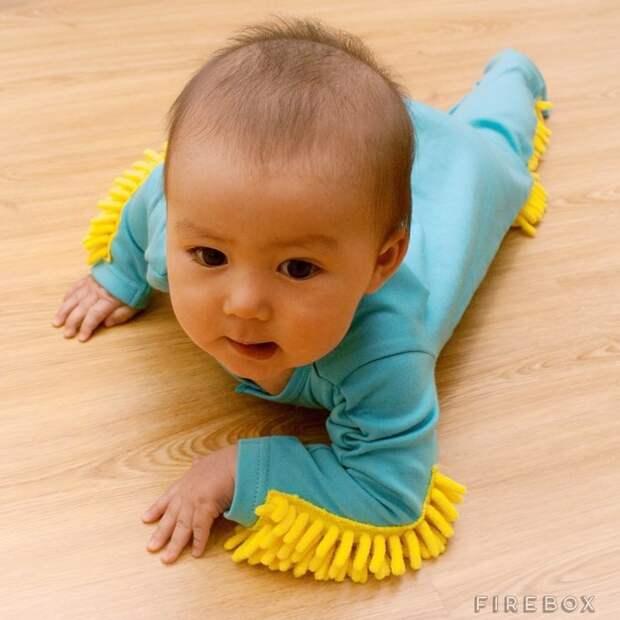 Полезный в хозяйстве ребенок