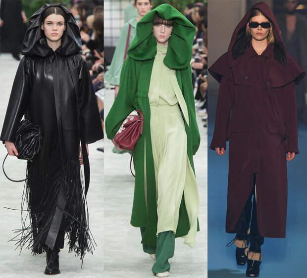 Женские пальто с капюшоном