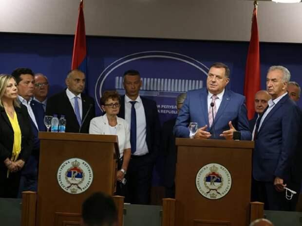 Республика Сербская объявила бойкот Боснии и Герцеговине