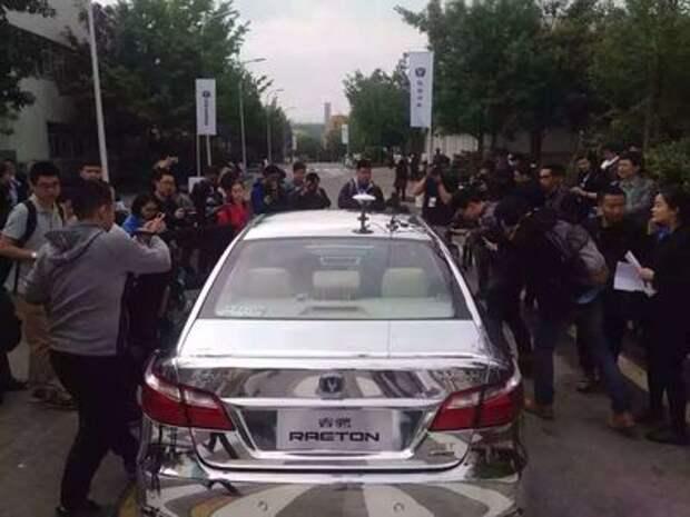 Китайская Changan включилась в беспилотную гонку