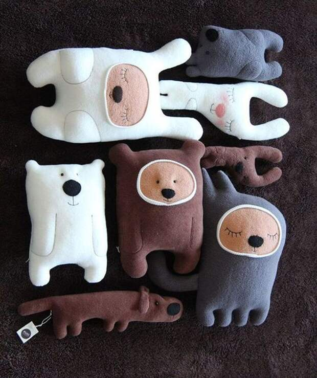 Креативные мягкие игрушки-засыпанки (трафик)