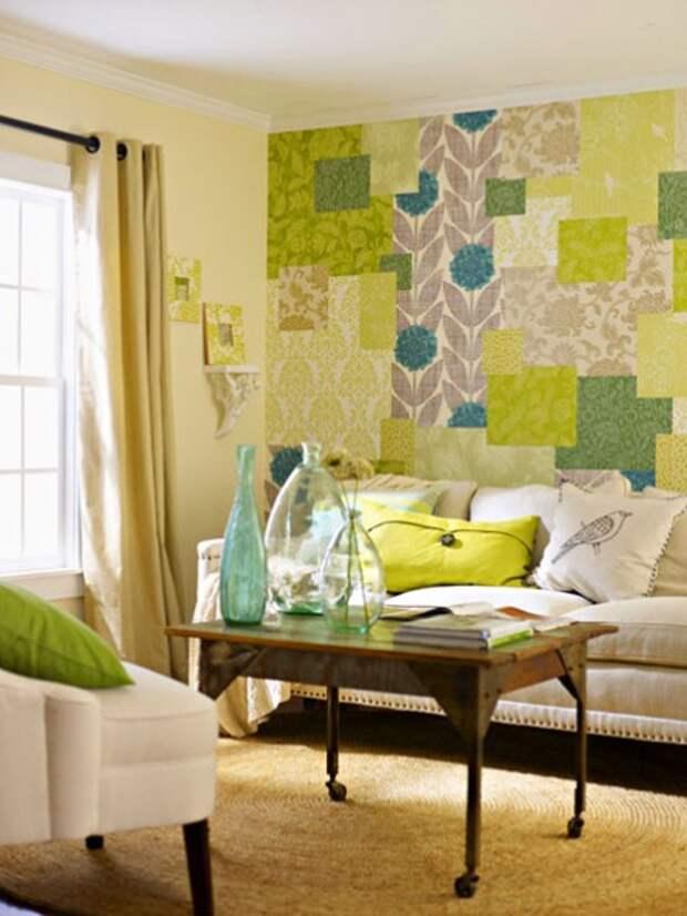 Что сделать из остатков обоев - интересные идеи для дома (фото)