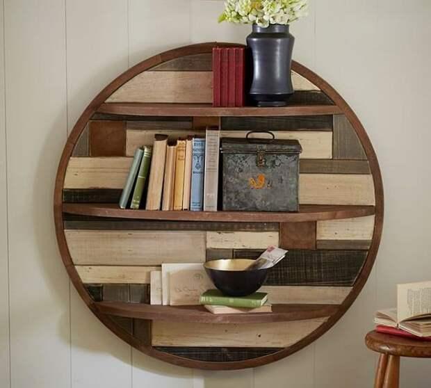 Винтажные деревянные предметы в интерьере, состаренное дерево в интерьере