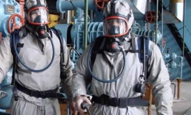 100 метров под землю: камера проникла на хранилище Росрезерва