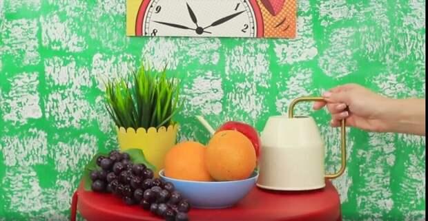 "Шикарный декор стен при помощи ""доширака""? (неожиданно и креативно)"