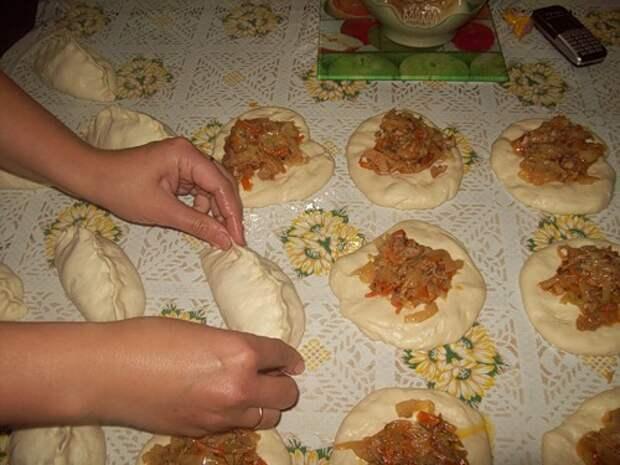 """Паровые пирожки по-корейски """"Пигоди"""""""