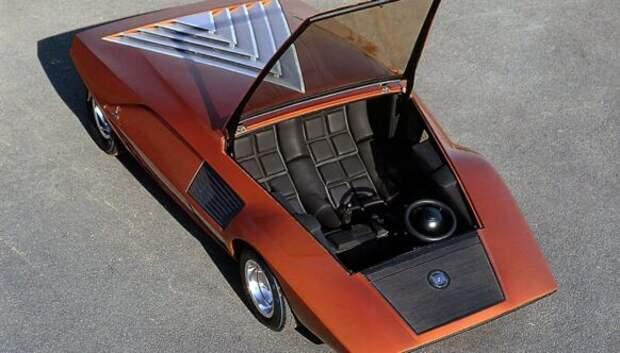 Lancia Stratos HF Zero — очень необычный автомобиль из 1970года