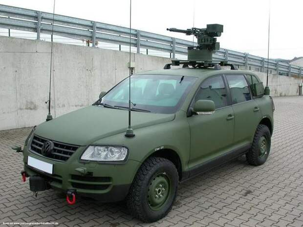 VW Toureg military version авто, броневик, военная техника