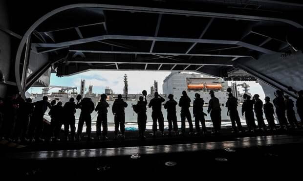 Сотни морпехов США будут размещены на кораблях союзников НАТО в Средиземноморье