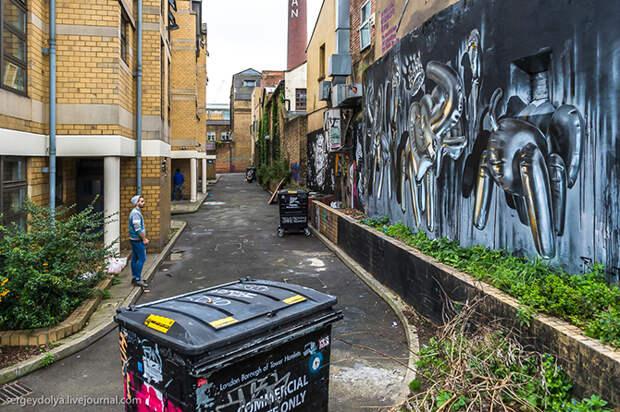 Шедевры современного искусства на стенах Лондона