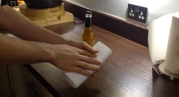 Бумажная открывалка для бутылок