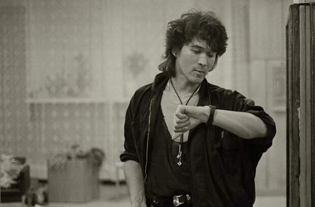 Последняя официальная фотосессия Виктора Цоя
