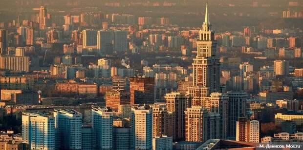 Самый динамично развивающийся мегаполис - Саркози о Москве. Фото: М. Денисов mos.ru