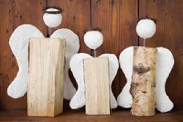 10 простых идей новогодних украшений для дачи
