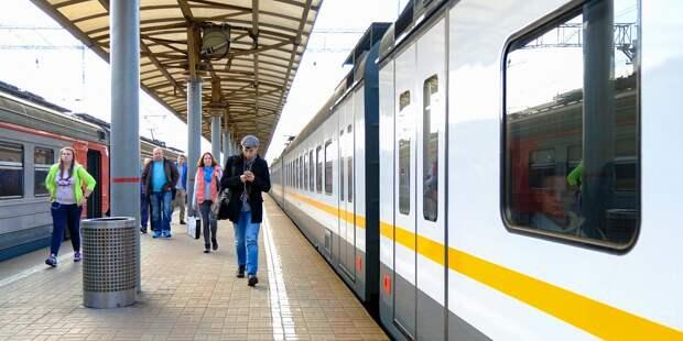 Расписание поездов от «Гражданской» скорректировано по 30 апреля