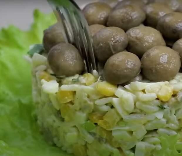 Простой салат к Новогоднему столу