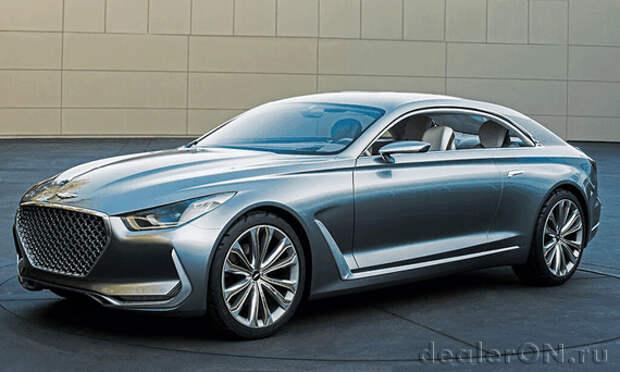 Hyundai демонстрирует люксовые намерения в купе Vision G